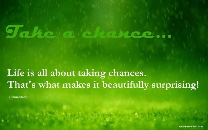 take chance2